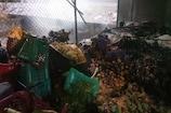 किरंदुल मार्केट में लगी आग, 8 दुकानें जलकर खाक, 73 साल के बुजुर्ग की मौत