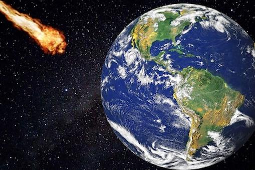 उस युग में एकबहुत बड़ा उल्कापिंड पृथ्वी से टकराया था. (सांकेतिक तस्वीर)