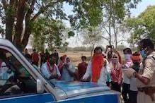 पुलिस की PCR वैन में शराब मिलने का मामला गर्माया, विरोध में उतरी BJP