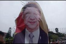 चीन के खिलाफ पटना की सड़कों पर उतरे लोग, पीएम से करारा जवाब देने की अपील