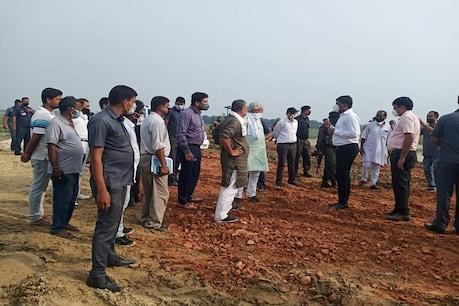 बाढ़ की तबाही को रोकने की तैयारी देखने 'फ्लड फील्ड' में उतरे नीतीश कुमार, कमला नदी पर बनेगा बराज