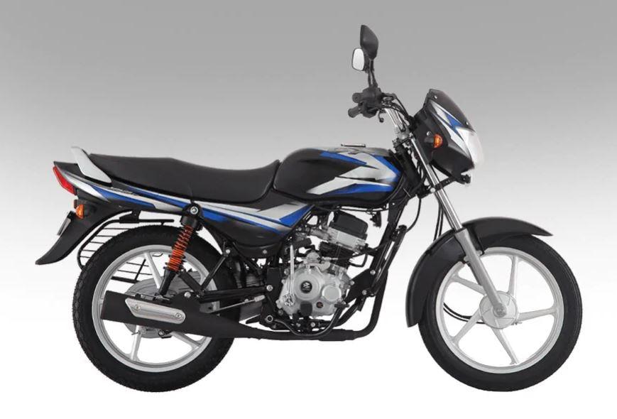 Bajaj CT100 (X-शोरूम प्राइज दिल्ली) - शुरुआती कीमत 42,790 रुपये: टूव्हीलर निर्माता कंपनी बजाज ऑटो की सबसे सस्ती बाइक CT100 है. BS6 Bajaj CT100 में 102cc, 4 स्ट्रोक और सिंगल सिलिंडर इंजन और एयर कूल्ड मोटर है. यह 7.9hp और 8.34Nm का टॉर्क जनरेट करता है. साथ में 4 स्पीड गियरबॉक्स है. बाइक की टॉप स्पीड 90 kmph है.