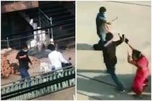 Lockdown में रायपुर पुलिस की गुंडागर्दी, मां के सामने बेटे को पीटा,देखें Video