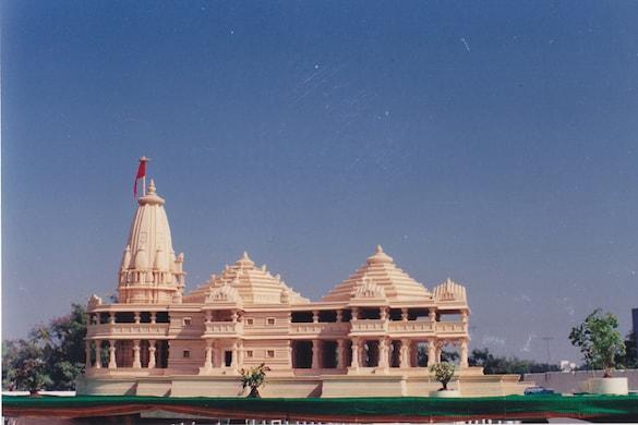 राम मंदिर निर्माण के लिए 5 अगस्त को भूमि पूजन प्रस्तावित है.(प्रतीकात्मक तस्वीर)