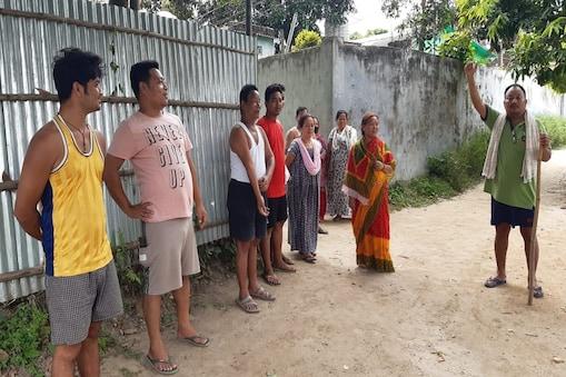 बिहार के कटिहार में रहने वाले नेपाली समुदाय के लोग