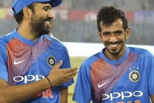 युजवेंद्र चहल और रोहित शर्मा के बीच काफी अच्छी दोस्ती है