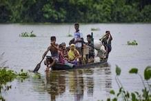 बिहार: भारी बारिश से नदियां उफनाईं, कई जगह निचले इलाकों में घुसा बाढ़ का पानी