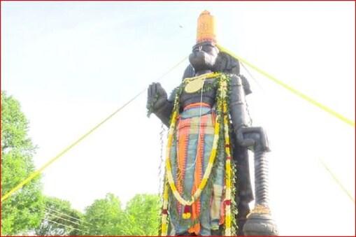 अमेरिका में भगवान हनुमान की 25 फीट ऊंची प्रतिमा स्थापित (फाइल फोटो)