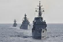 चीन के साथ सीमा विवाद के बीच भारत-जापान की नौसैनाओं का युद्धाभ्यास