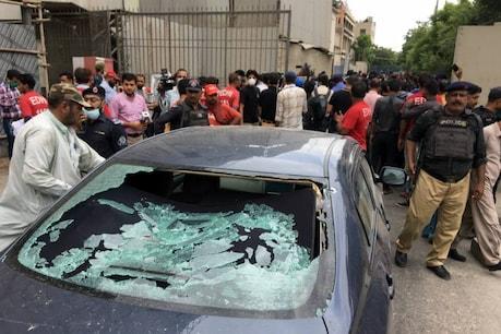 कराची स्टॉक एक्सचेंज पर बड़ा आतंकी हमला, 4 आतंकी समेत 9 लोगों की मौत
