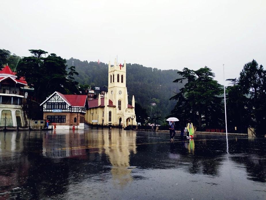 शिमला में बारिश. (FILE PHOTO)