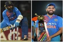 रोहित शर्मा ने दिनेश कार्तिक को कहा बाबा, आखिरी गेंद पर लगाए छक्के को किया याद