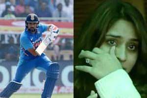 रोहित शर्मा का खुलासा, तीसरे दोहरे शतक नहीं, बल्कि इस वजह से भरे स्टेडियम में फूट- फूटकर रोईं थी पत्नी रितिका