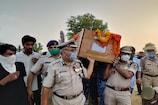 आतंकी हमले में शहीद CRPF जवान दीपचंद वर्मा को नम आंखों से दी गई अंतिम विदाई