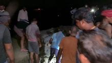 पानी के तेज बहाव में सारण मुख्य बांध ध्वस्त, 600 गांवों पर बाढ़ का खतरा