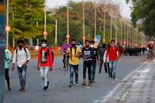 वापस लौट रहे कामगारों पर आप सांसद ने थपथपाई दिल्ली सरकार की पीठ