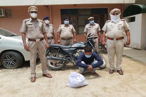 फतेहाबाद में नशा तस्कर गिरफ्तार