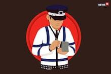 चप्पल पहन कर कार चलाना पड़ा महंगा, पुलिस  ने काटा 'डेंजरस ड्राइविंग' का चालान