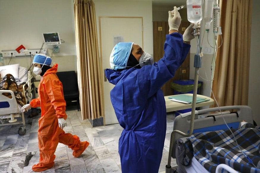 अस्पतालों में बेड की उपलब्धता के आधार पर कोविड लाल, पीले और हरे रंग के निशान भी किए गए हैं.