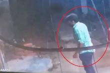 सोनीपत: शराब ठेके पर अज्ञात बदमाश ने चलाई गोली, सीसीटीवी में हुआ कैद