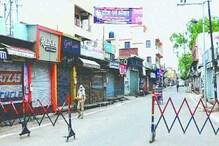 कानपुर: बेकाबू हुआ कोरोना, 10 थाना क्षेत्रों में टोटल लॉकडाउन