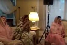 Video: सियासी संकट के बीच जयपुर के होटल में ऐसे समय काट रहे कांग्रेसी विधायक