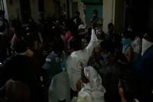 उदयपुर: कांजी का हाटा सील करने की आशंका पर लोगों ने किया जमकर हंगामा