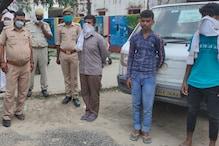 मसाला लूटने वाला फर्जी वाणिज्यकर अधिकारी फरार, मुठभेड़ के बाद 3 बदमाश गिरफ्तार