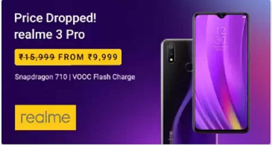 Realme 3 pro 6 हज़ार रुपये सस्ता हो गया है. (Photo:Flipkart)