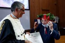 रचा इतिहास: 96 साल की उम्र में की ग्रेजुएशन, ऐसा करने वाले देश के पहले शख्स