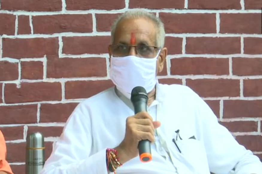 राम जन्म भूमि तीर्थ ट्रस्ट के महासचिव संपत राय.