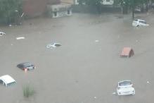 Jaipur: रिकॉर्ड बारिश से बाढ़ जैसे हालात, हाहाकार मचा, MLAs की बसें भी फंंसी
