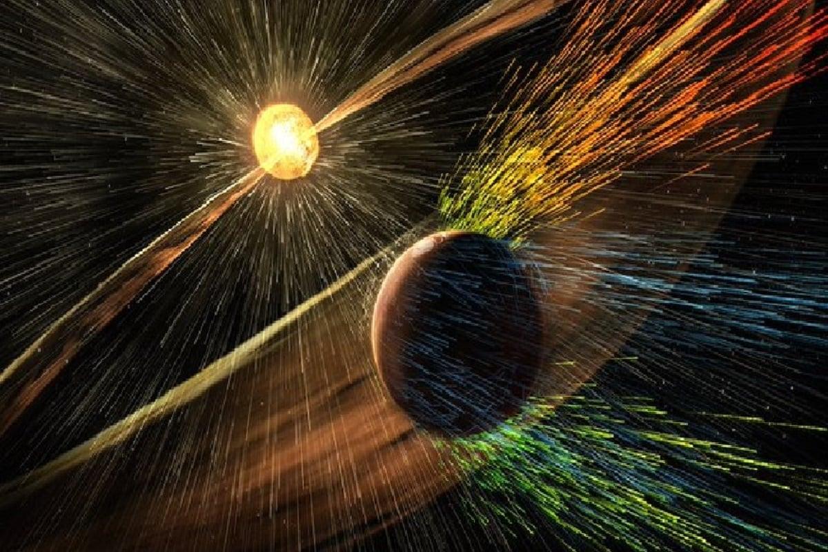 Mars, Soil of mars, Space Radiation
