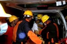 कानपुर में गिरा चार मंजिला मकान, मलबे में दबकर मां-बेटी की दर्दनाक मौत