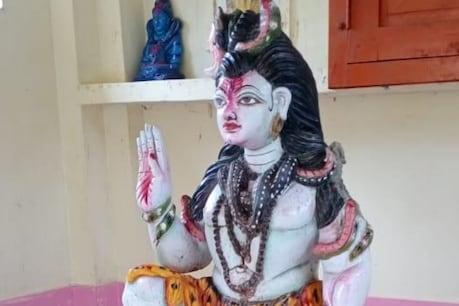 आजमगढ़ में धार्मिक उन्माद फैलाने का कोशिश, अराजक तत्वों ने तोड़ी भगवान शिव की प्रतिमा