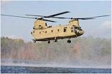 चीनी सेना की तैनाती के बाद DOB में वायुसेना के चिनूक हेलीकॉप्टर ने भरी उड़ान