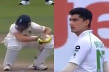 17 साल के पाकिस्तानी गेंदबाज की बाउंसर पर बाल- बाल बचे क्रिस वोक्स