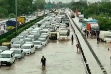 गुरुग्राम: बारिश के बाद हालात बेकाबू, जलभराव और जाम से लोग परेशान