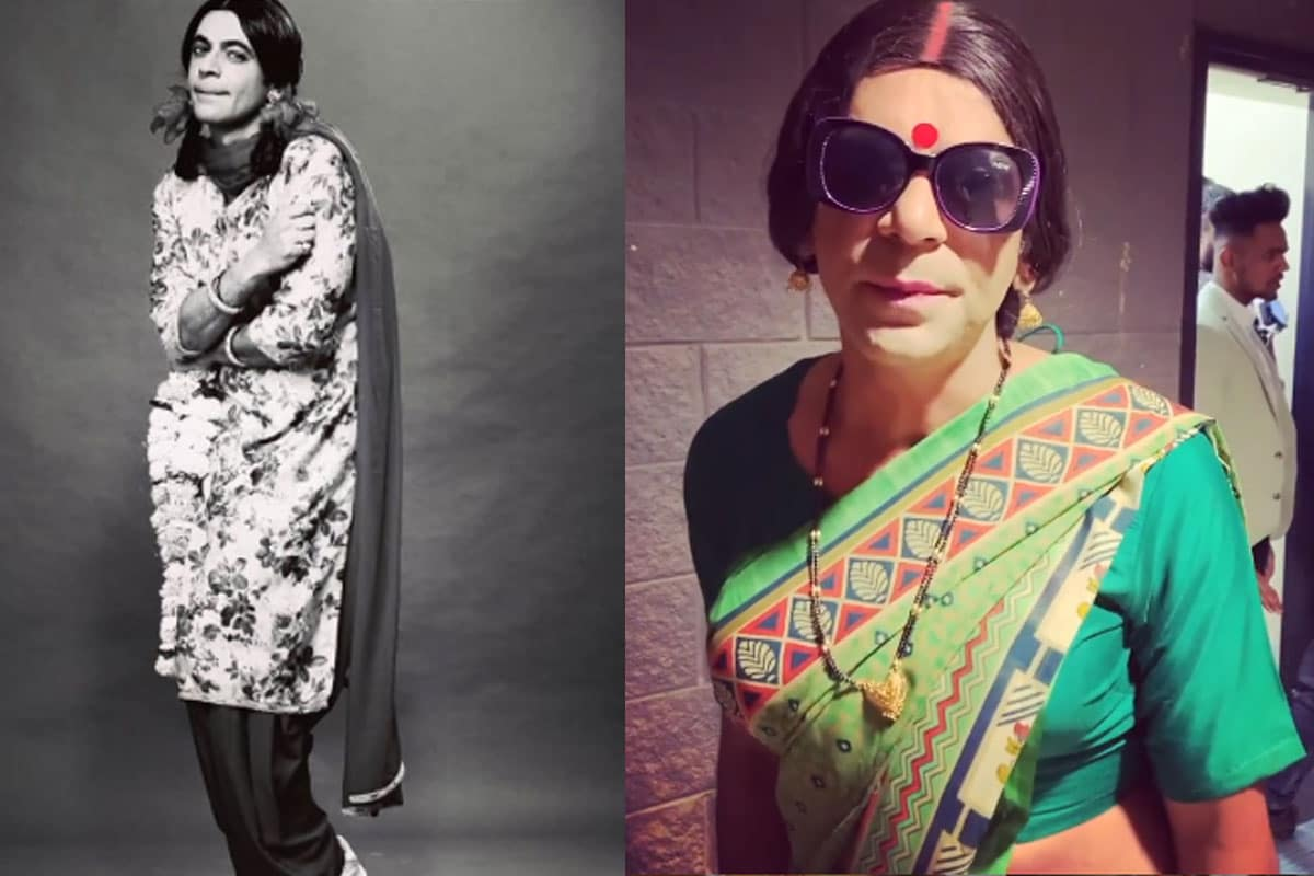 sunil grover, gutthi, rinku bhabhi, comedy nights with kapil, sunil grover son Mohan , Mohan refused to not play Girls role, television, Social Media, सुनील ग्रोवर, गुत्थी, रिंकू भाभी, कॉमेडी नाइट्स विद कपिल, सोशल मीडिया, वायरल पोस्ट, सुनील ग्रोवर का बेटा