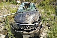 शिमला हादसा: कुफरी घूमने गए थे, लौटते वक्त खाई में गिरी कार, देखें PHOTOS