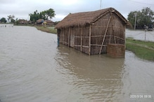 नेपाल में भारी बारिश से बिहार में बाढ़ ने फिर दी दस्तक, बेतिया में हाल बेहाल