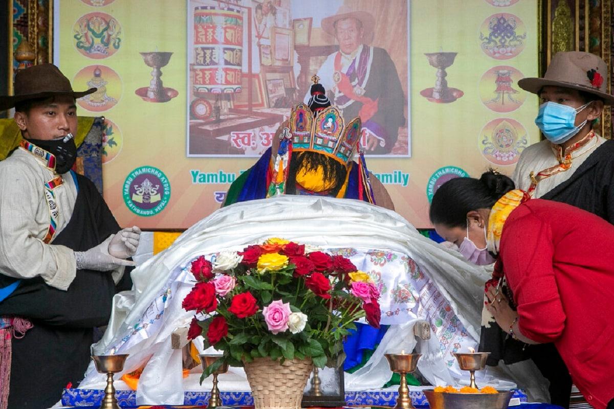 Nepal Veteran Sherpa Funeral