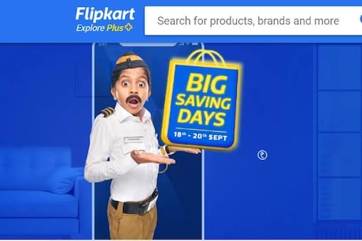Flipkart Big Saving Days सेल 18 सितंबर से शुरू होकर 20 सितंबर तक चलेगी.