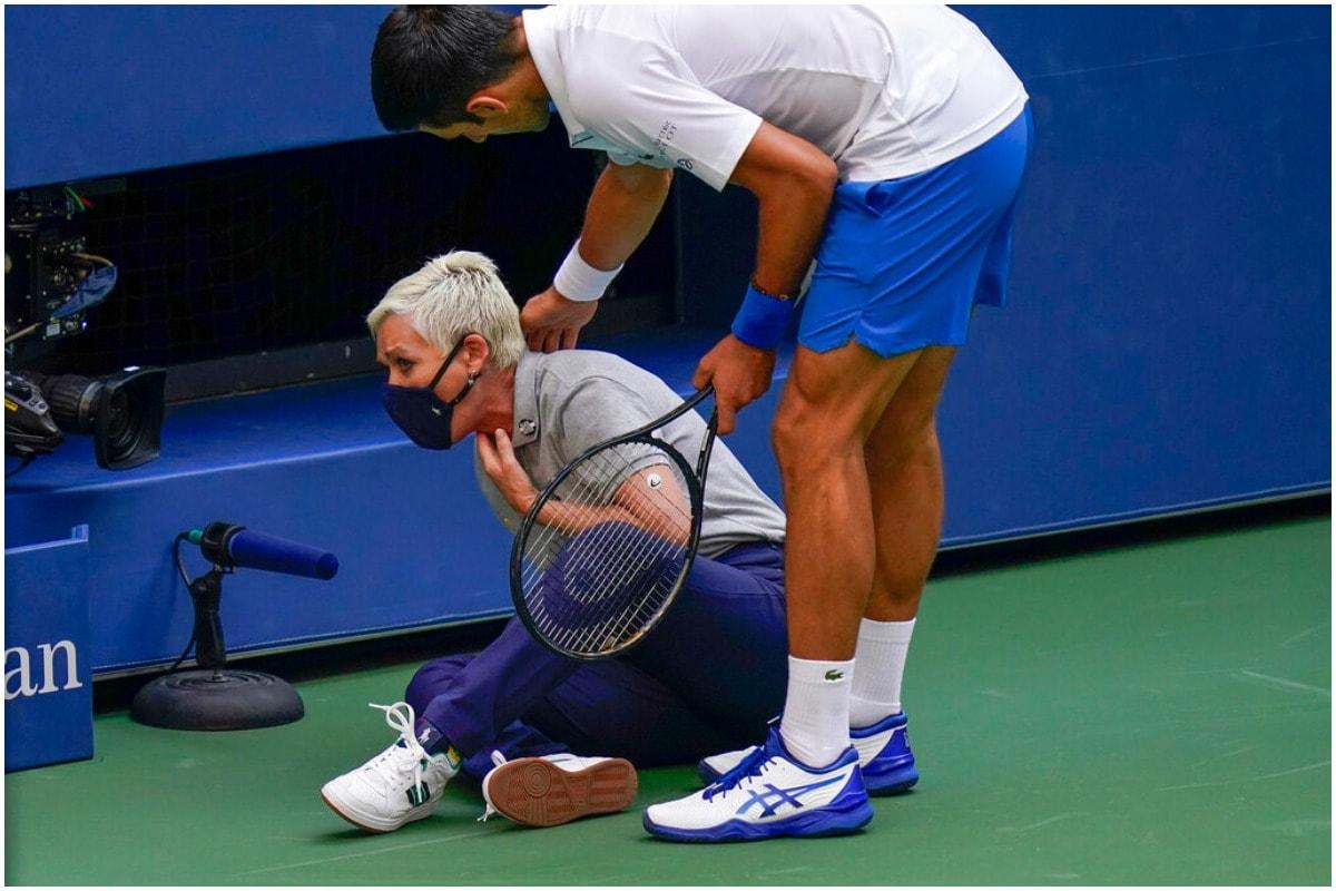 Novak Djokovic, US OPEN, US Open, US OPEN 2020, American Open, Novak Djokovic Disqualification