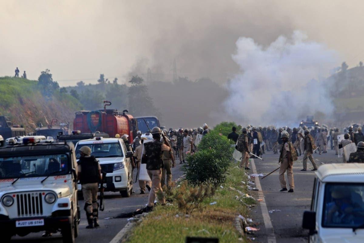 Udaipur: डूंगरपुर हिंसा की आग पर अब राजनीतिक रोटियां सेंकने की तैयारी, PHOTOS से जानिये पूरा गणित Rajasthan- Udaipur- Now preparing to bake political rot in the fire of Dungarpur violence- know the complete mathematics -Congress- BJP- BTP