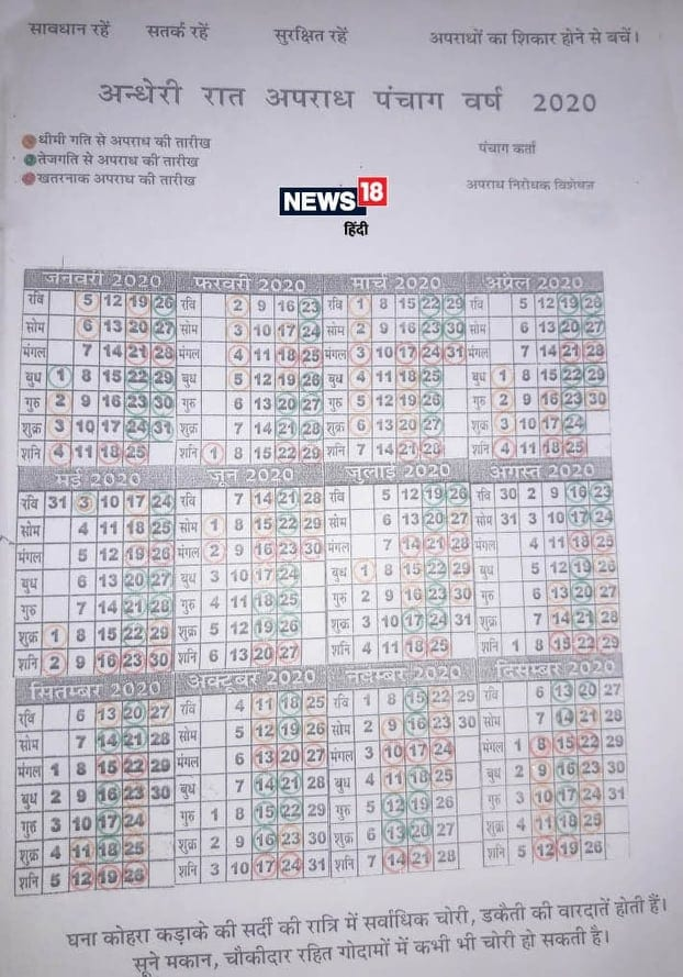 Crime Calendar, Latest Crime News, Criminal Cases, UP Police, Rajasthan, Crime control Expert, अपराध, पुलिस, उत्तर प्रदेश, राजस्थान, अपराध कैलेंडर, अपराध विशेषज्ञ