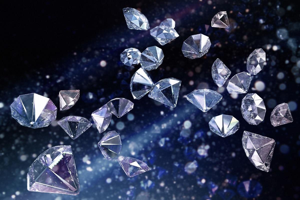 Diamond, meteorite,