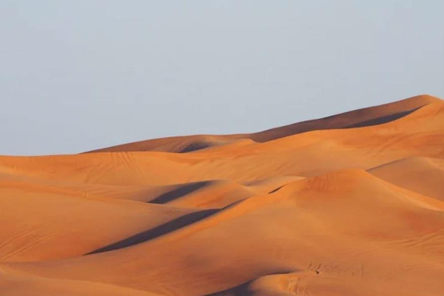 desert into farmland