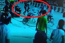 CCTV: गोरखपुर में बीच सड़क जमकर मारपीट और शूटआउट, युवक को दौड़ाकर मारी गोली