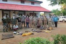 जंगल में चीतल का शिकार कर पकाने जा रहे थे मांस, गिरफ्तार